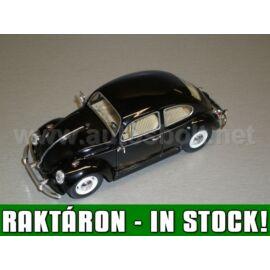 Volkswagen Beetle '1967' fekete modell autó 1:24