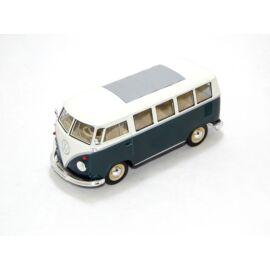 1962 Volkswagen Classical bus zöld/fehér modell autó 1:24