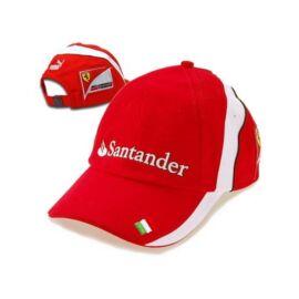 """Ferrari baseball sapka """"SF Team ITALY/Santander"""" piros"""
