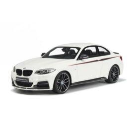 BMW M 235i M Performance fehér  modell autó 1:18