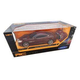 Aston Martin Vanquish bordó R/C távirányítós autó 1:24