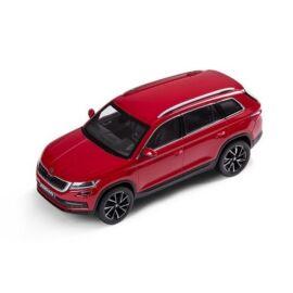 Skoda Kodiaq modell autó 1:43 piros