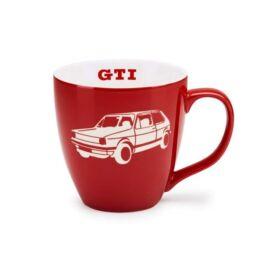 "Volkswagen bögre ""GTI"" piros-fehér 2018"