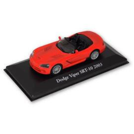 2003 Dodge Viper SRT-10 red modell autó 1:43