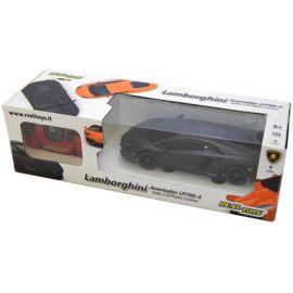 Lamborghini Aventador LP-700 fekete R/C távirányítós autó 1:24