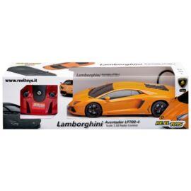 Lamborghini Aventador LP700 orange R/C távirányítós autó 1:18