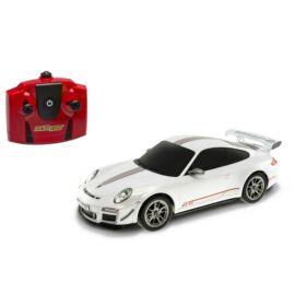Porsche 911 GT3 RS fehér R/C távirányítós autó 1:18