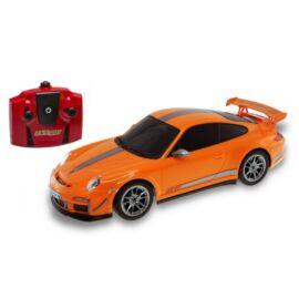 Porsche 911 GT3 RS orange R/C távirányítós autó 1:24