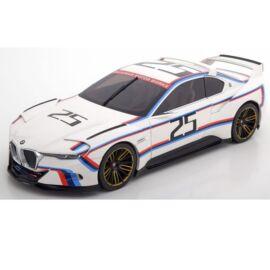 BMW 3.0 CSL Hommage R#25 fehér modell  autó 1:18