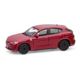 Alfa Romeo Stelvio red modell autó 1:43