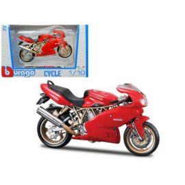 Ducati Supersport 900 piros modell  1:18