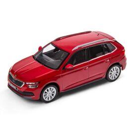 Skoda Kamiq modell autó 1:43 Velvet Red