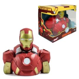 IRON MAN  Vasember DELUXE BUST BANK mellszobor persely 18 cm