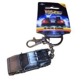 Back to the Future Delorean 3D kulcstartó