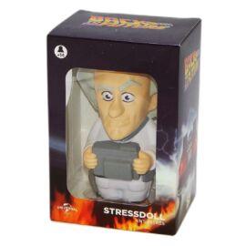 Back to the Future Doc Brown stresszoldó figura 14 cm