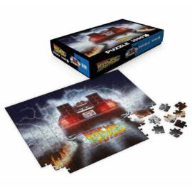 Back to the Future OUT A TIME, Delorean 1000 db-os puzzle 66 x 45 cm