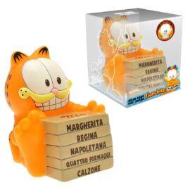 Garfield és az 5 pizza persely figura 9 cm