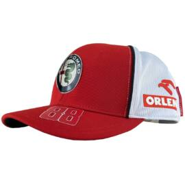 Alfa Romeo Racing baseball sapka, Team 2020 Robert Kubica, piros