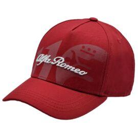 Alfa Romeo 110 anniversary baseball sapka, piros 'Classy line'