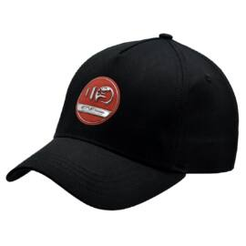 Alfa Romeo 110 anniversary baseball sapka, fekete-piros 'Special emblem line'