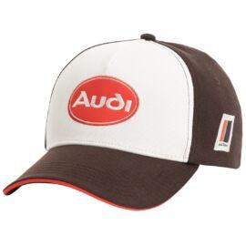 Audi baseball sapka Heritage 2020, barna-fehér