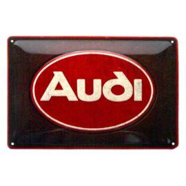 """Audi dombornyomott fémplakát 20 x 30 cm """"22326"""""""