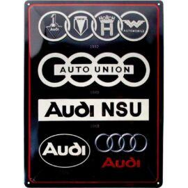 """Audi dombornyomott fémplakát 30 x 40 """"23306"""""""
