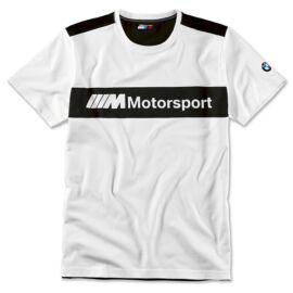 Bmw Motorsport férfi póló fehér-fekete