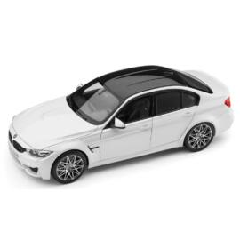 Bmw M3 Mineral White Metallic modell autó 1:18