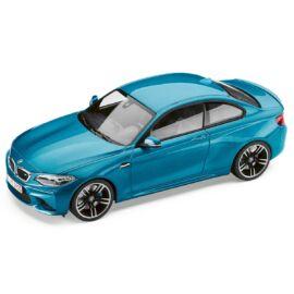 Bmw M2 Coupé Long Beach Blau modell autó 1:18