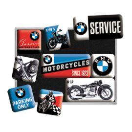 """Bmw mágnes-szett """"Motorcycles"""" 9 x 7 cm"""