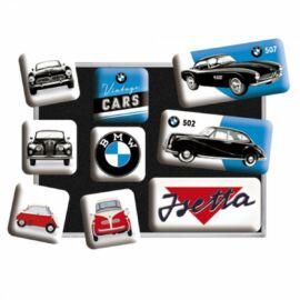 """Bmw mágnes-szett """"Vintage Cars"""" 9 x 7 cm"""