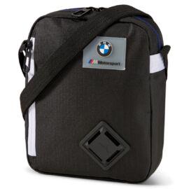 Puma BMW M Motorsport LS Portable válltáska three color design, fekete-fehér