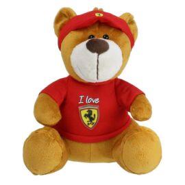 "Ferrari plüss mackó ""I Love Ferrari"" 30 cm"