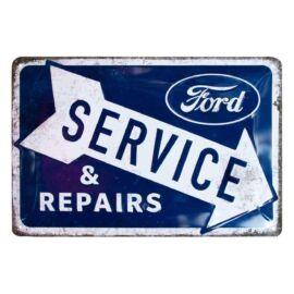 """Ford Service & Repairs dombornyomott fémplakát 20 x 30 cm """"22324"""""""
