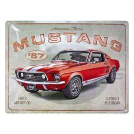 """Ford Mustang '67 dombornyomott fémplakát 30 x 40 """"23298"""""""