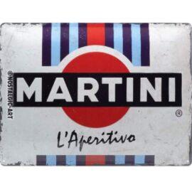 Martini dombornyomott fémplakát 30 x 40 cm