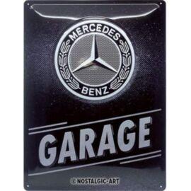 """Mercedes-Benz dombornyomott fémplakát 30 x 40 """"Garage"""""""