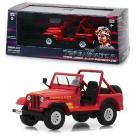 1983 Sarah Conner's Jeep CJ-7 Renegade The Terminator modell autó 1:43