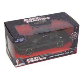 Dom'S Dodge Challenger SRT8 fekete modell autó 1:32