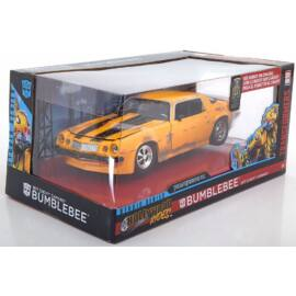 1977 Chevrolet Camaro Bumblebee Transformers modell autó 1:24