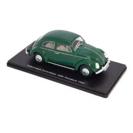 Volkswagen Escarabajo 1200 Standard 1960 green modell autó 1:24