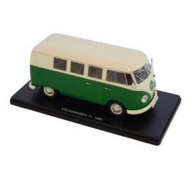 Volkswagen T1 1960 green/white modell autó 1:24
