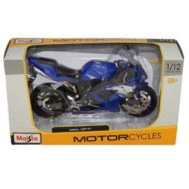 Yamaha YZF-R1 kék/fehér modell 1:12