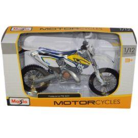 Husqvarna FE 501 kék/fehér/sárga modell 1:12