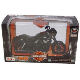 Harley Davidson 2015 Street 750 fekete modell 1:12