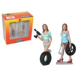 MOTORHEAD  Tire Brigade Set #5 #771 Michele & Meg figura modell 1:18