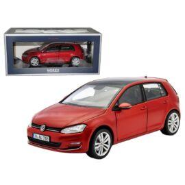 2014 Volkswagen Golf VII Red metallic modell autó 1:18