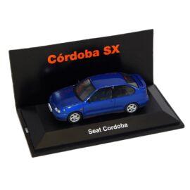 Seat Cordoba blue Dealer packaging modell autó 1:43