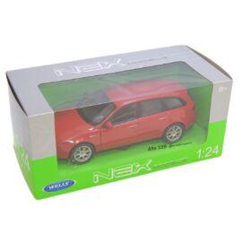 Alfa Romeo 159 Sportwagon piros modell autó 1:24